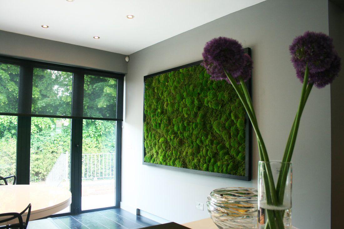 Moss Wall in Condo