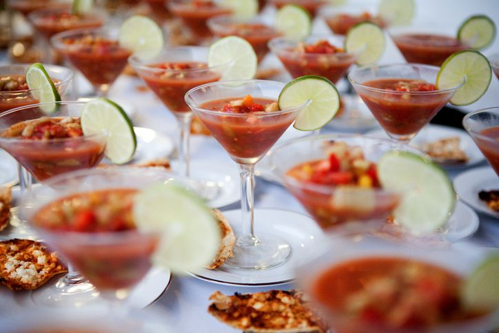 Interactive food stations or unique menus can make for a memorable experience for your wedding guests.