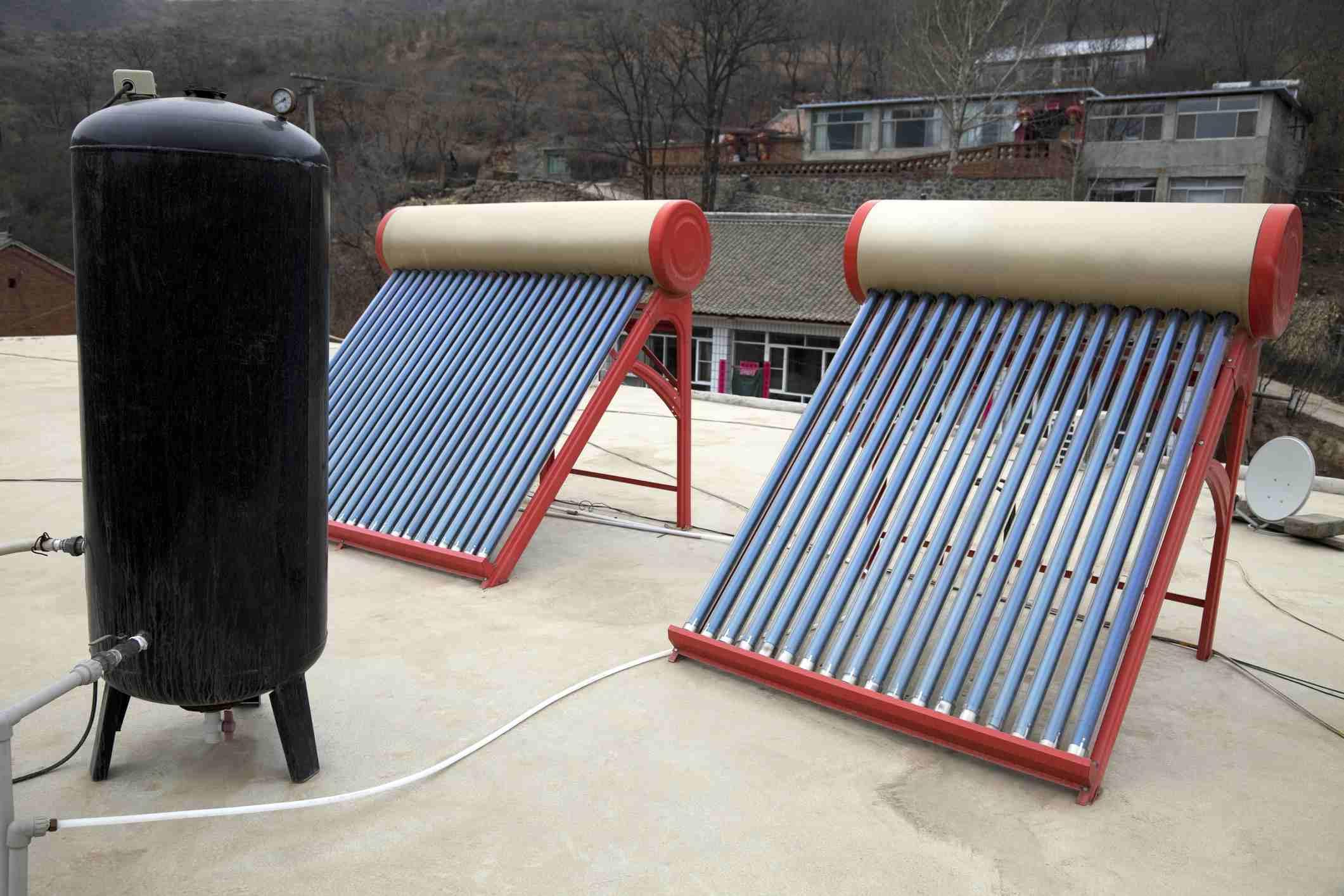 Calentador solar de agua