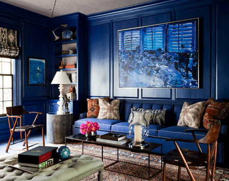 Blue Living Room Ideas Beauteous Blue Living Room Designs