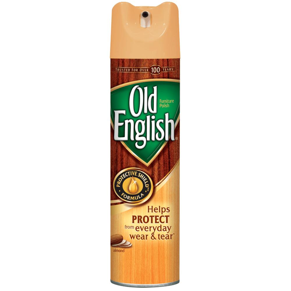 Old English Aerosol Furniture Polish, Almond