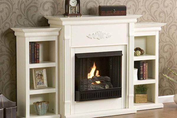 Brookstone Gel Fuel Fireplace