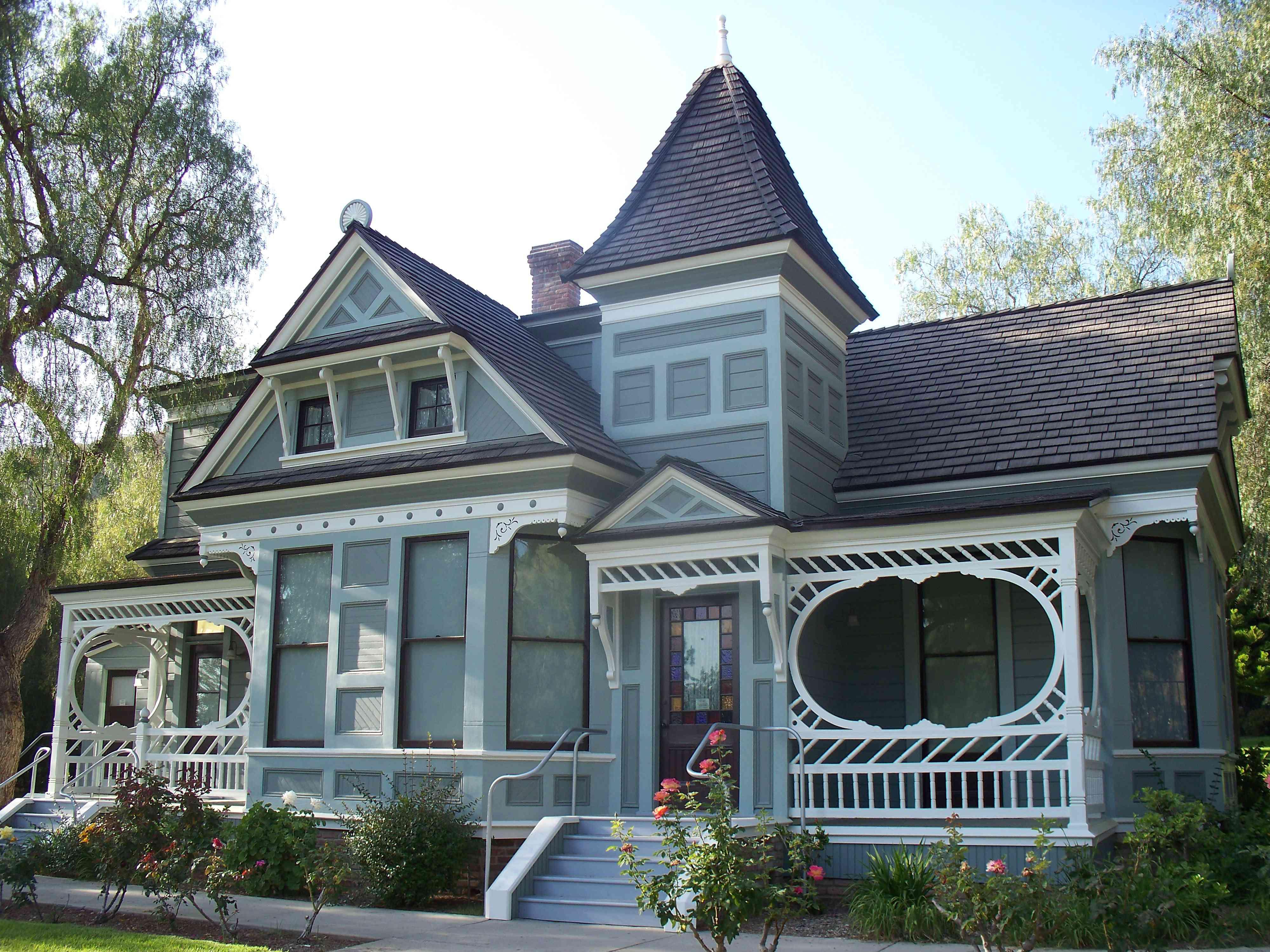 Eastlake style home