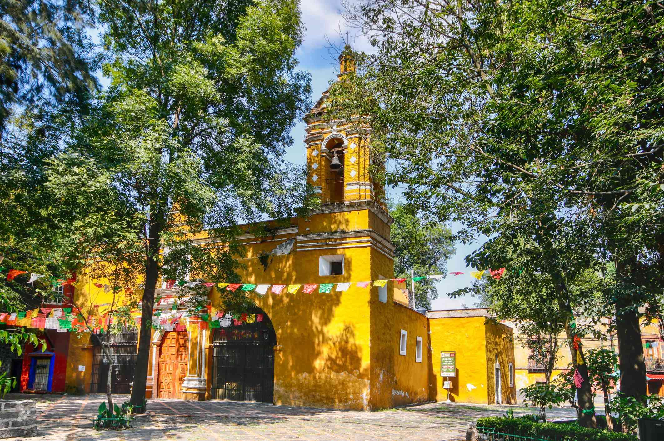 Iglesia de Santa Catarina en Coyoacán - Ciudad de México, México