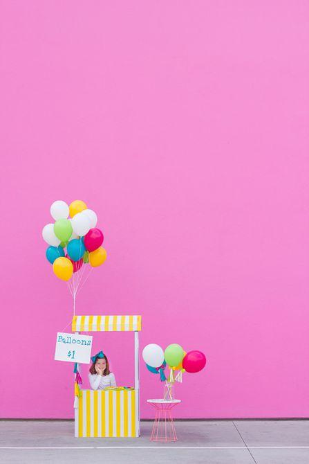 Ikea Balloon Soporte