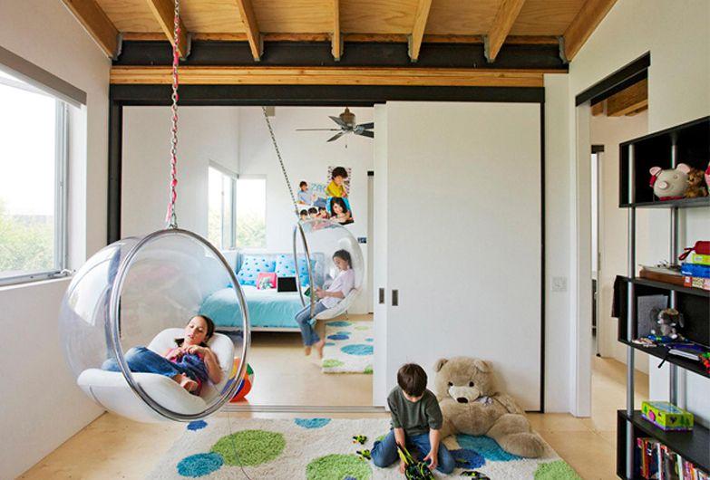 6 sillas colgantes encantadoras de burbujas para niños