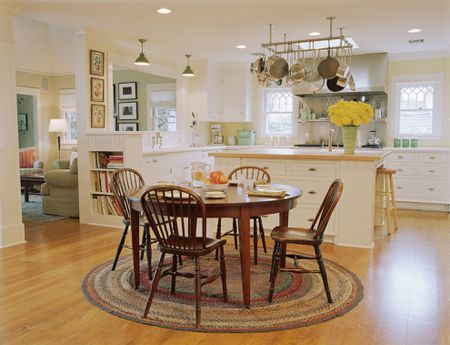 Pot Rack In Kitchen - Kitchen Design Ideas