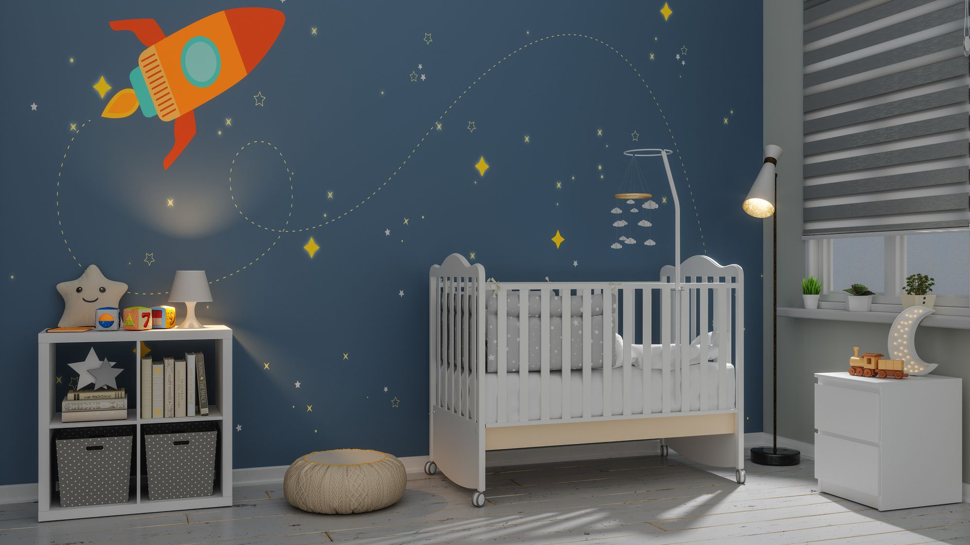 12 Space-Themed Rooms for Kids