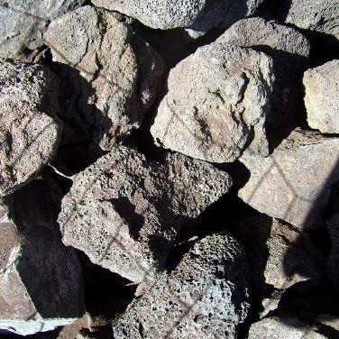 lava rock for patio design