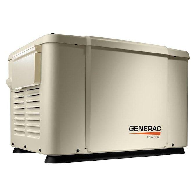 Generac PowerPact 7,500 Watt Standby Generator, Model 69981