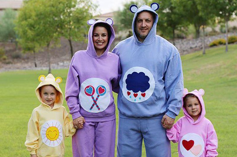 no-sew care bear costumes