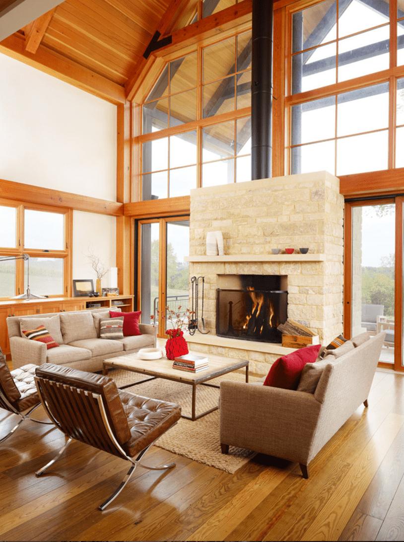 15 Farmhouse-Style Living Room Tips