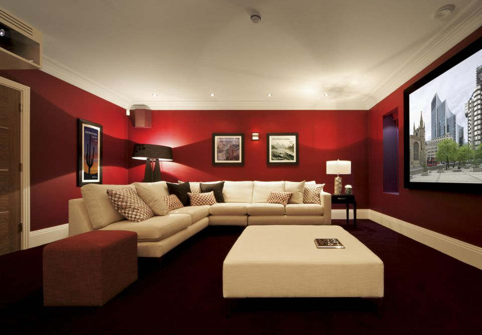 Elegant How to Decorate A Basement Room