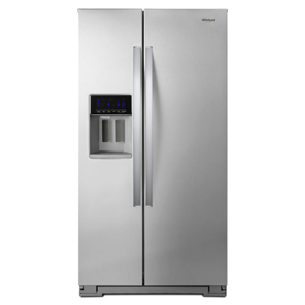 Whirlpool 21 cu. ft. Side By Side Refrigerator, Counter Depth