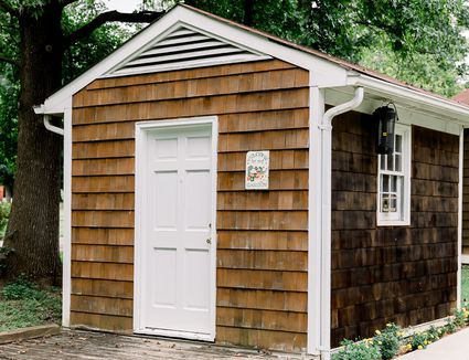 a quaint shed