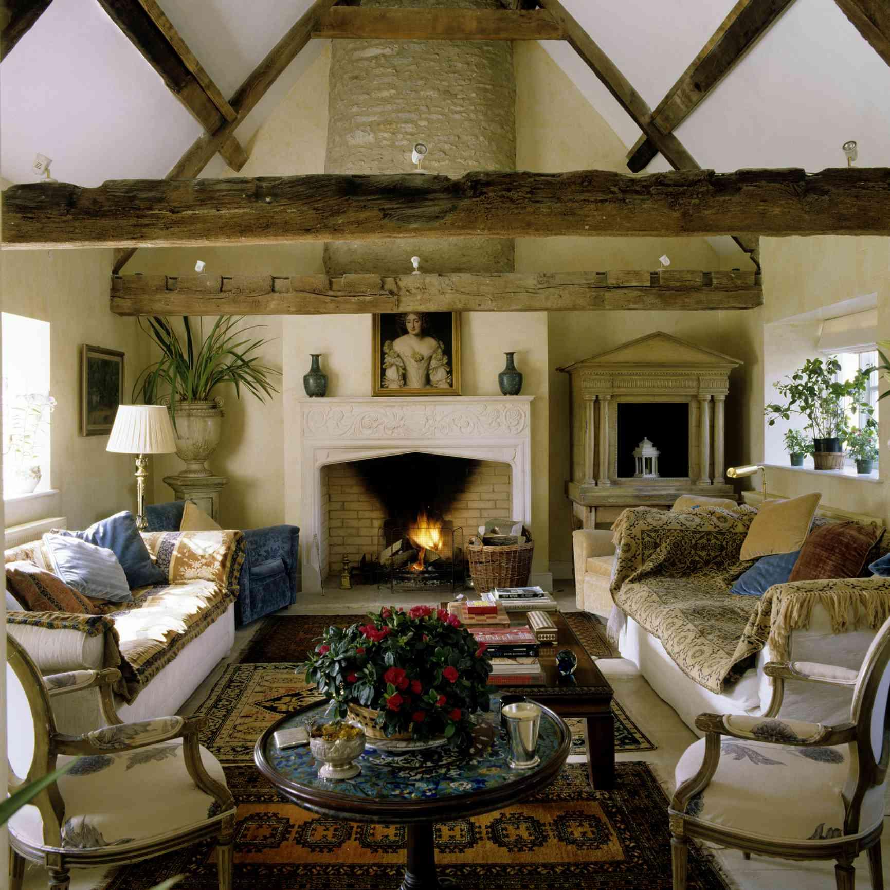 Cozy Wiltshire living room
