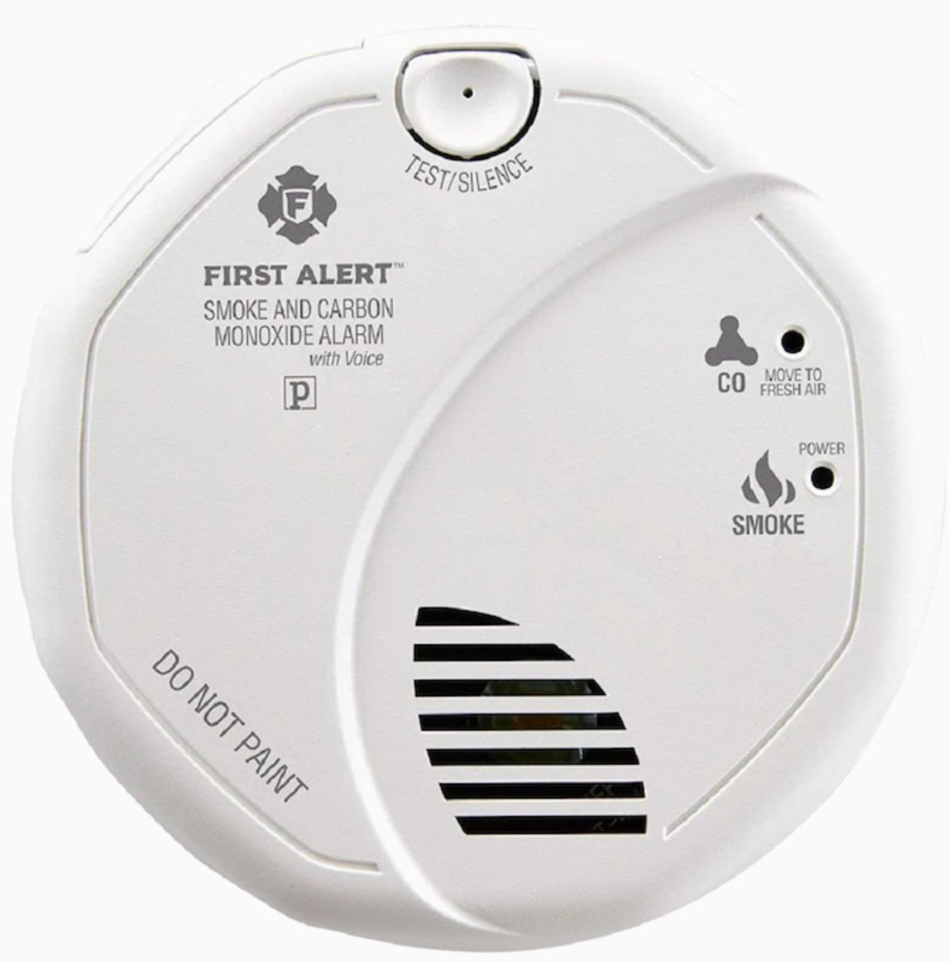 AC Hardwired Combination Smoke and Carbon Monoxide Detector with Voice Alert