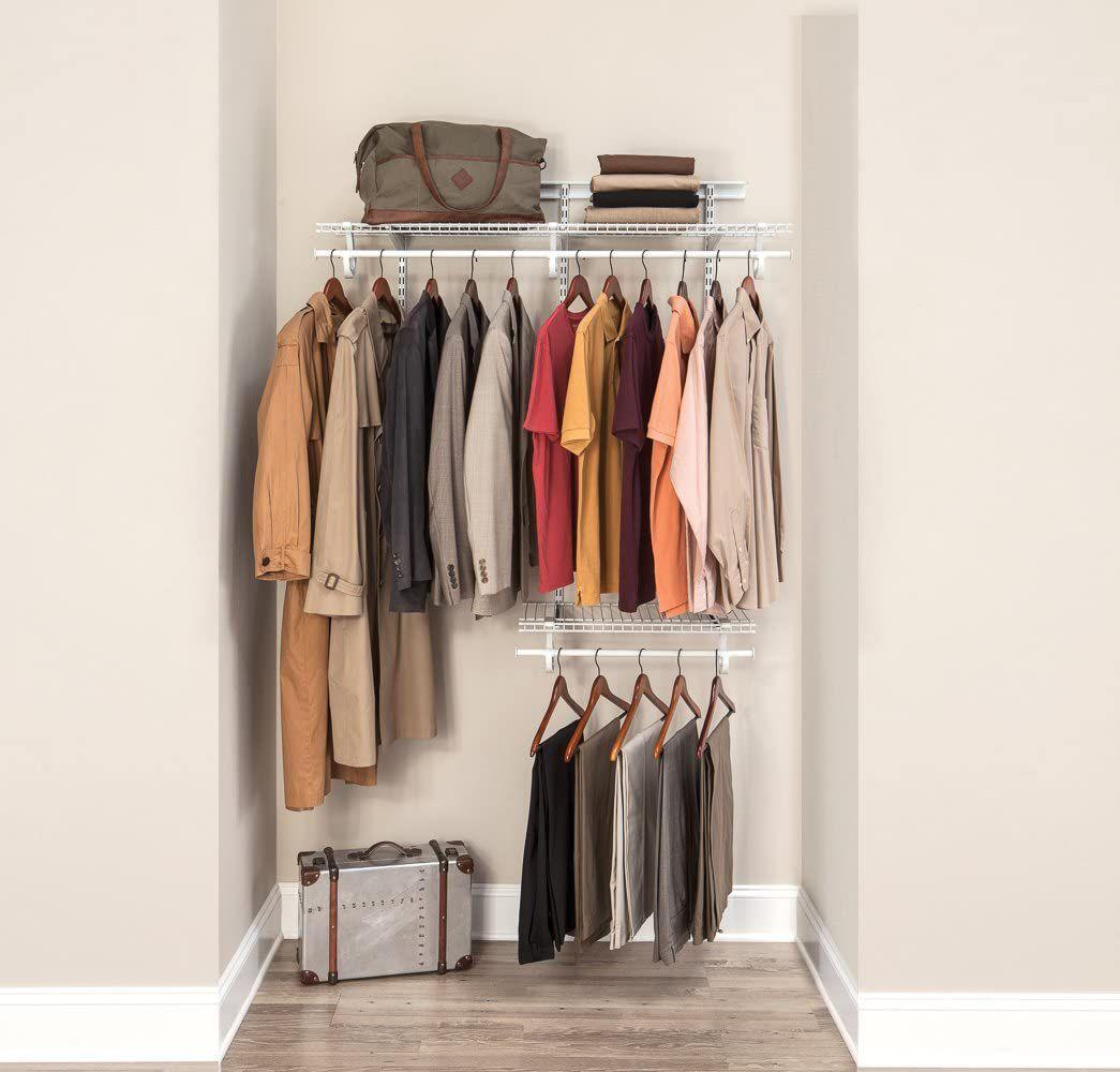 ClosetMaid 2087 ShelfTrack Adjustable Closet Organizer Kit