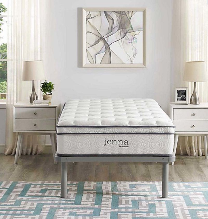 Modway Ultimate Quilted Pillow Top Mattress