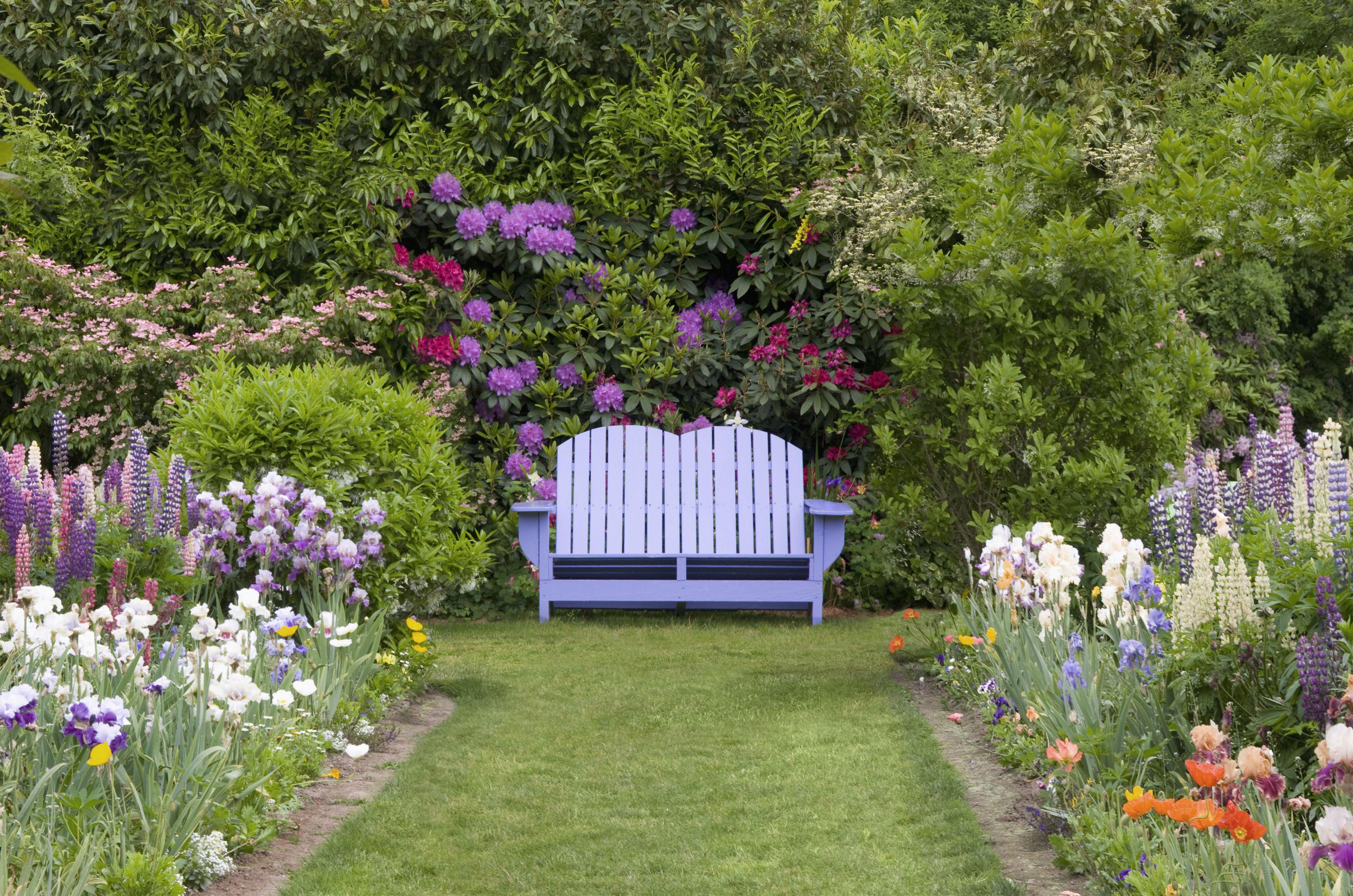 Spring Garden Bench