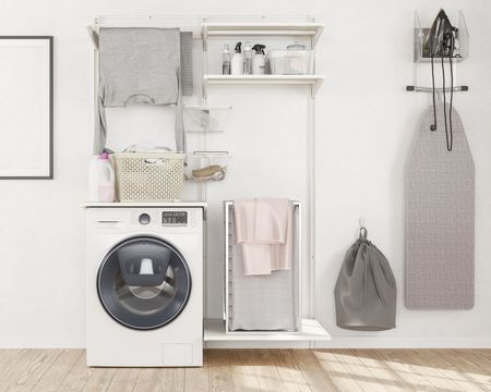 6 Tips To Organize A Laundry Room