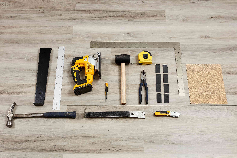 Vinyl plank flooring installation tools