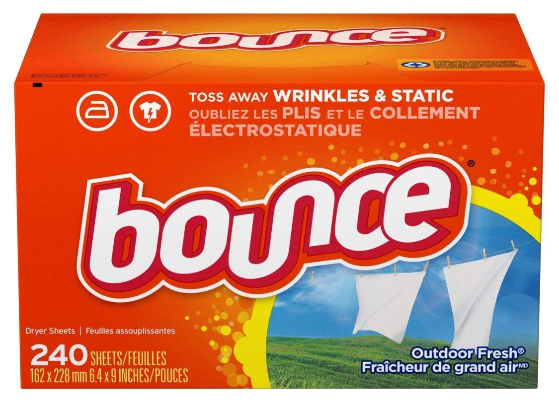 Bounce Fabric Softener and Dryer Sheets, Outdoor Fresh