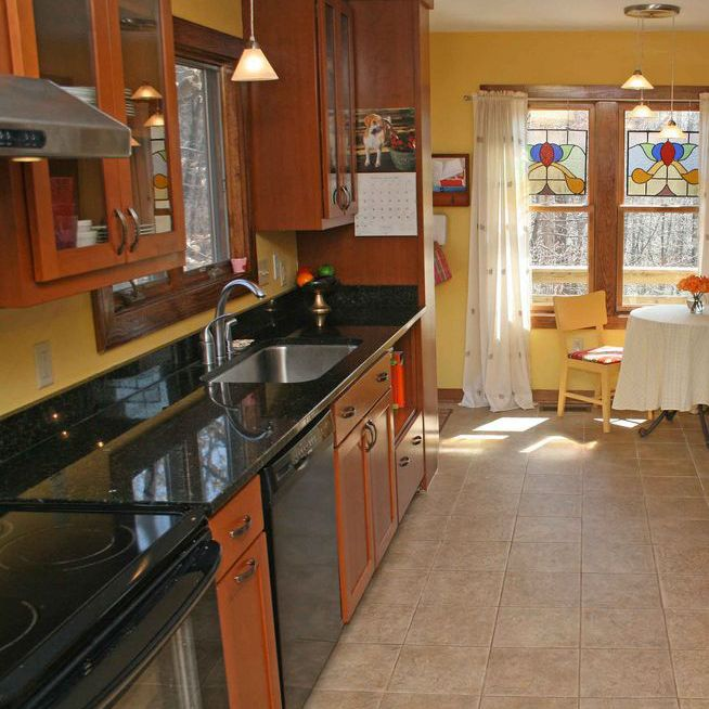 Galley Kitchen On One Wall