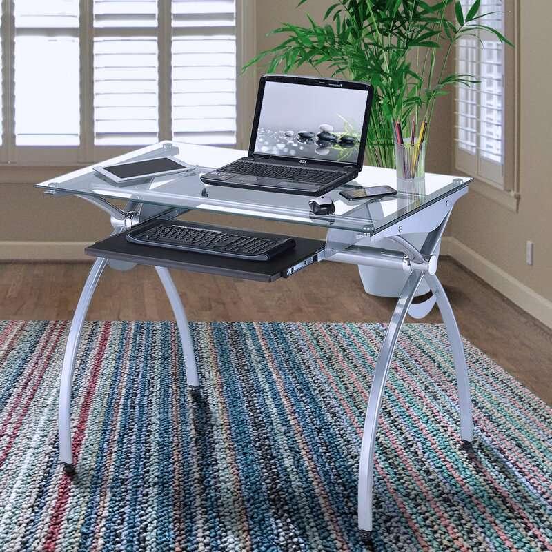 Latitude Run Ryan Keyboard Tray Writing Desk