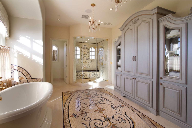 fotos de baño de lujo