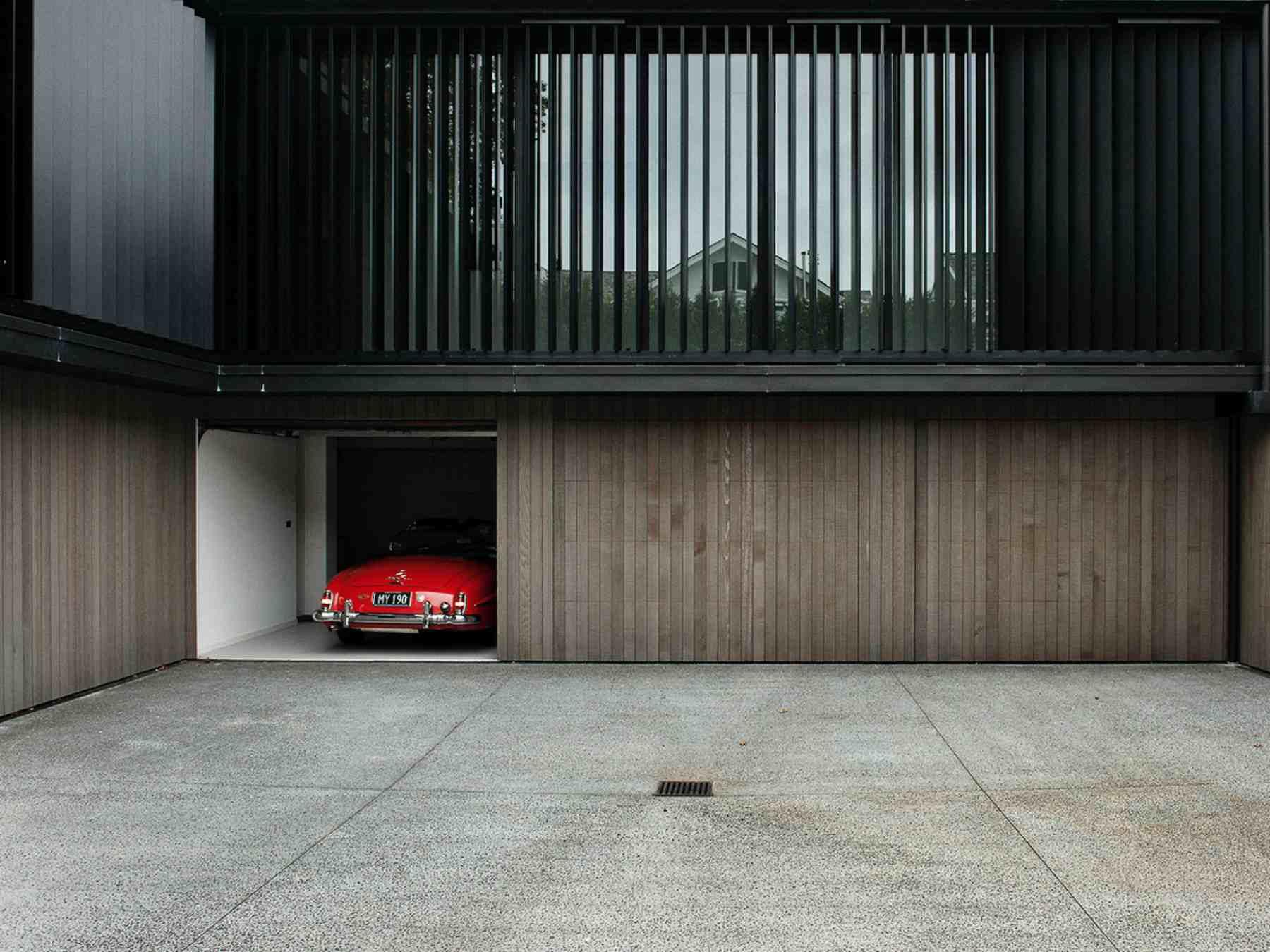 diseños de puerta de garaje