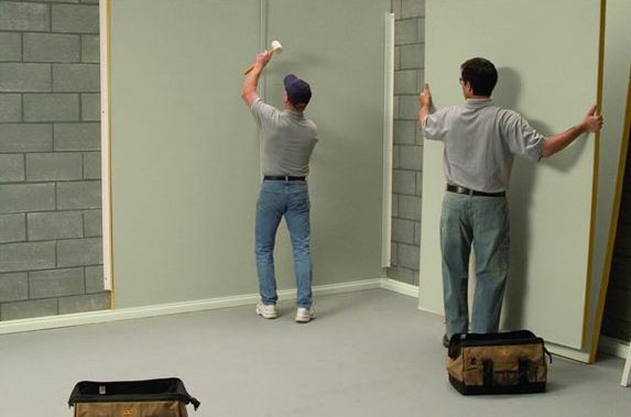 basement finishing system
