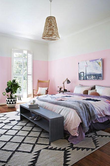 7 habitaciones bonitas en rosa