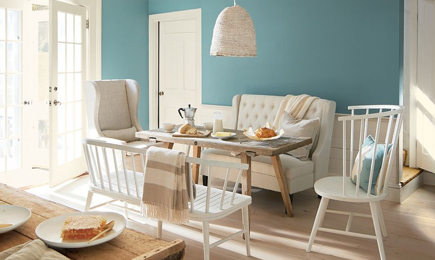 Benjamin Moore color of the year Aegean Teal