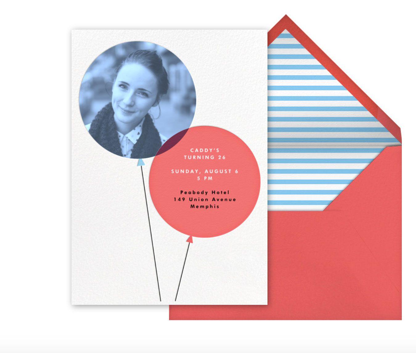 Paperless post invitation