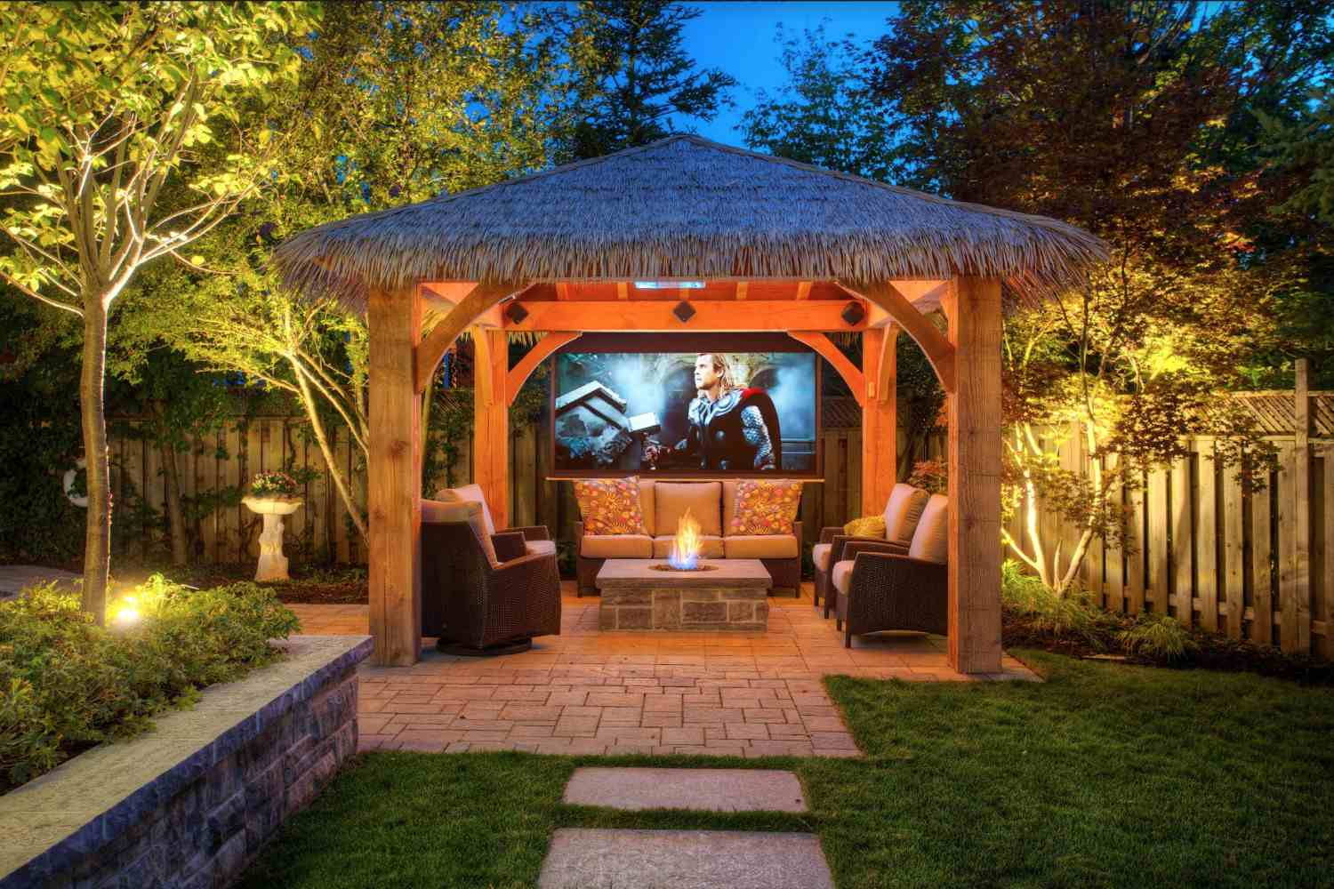 Backyard With Pergola 27 gorgeous gazebo design ideas