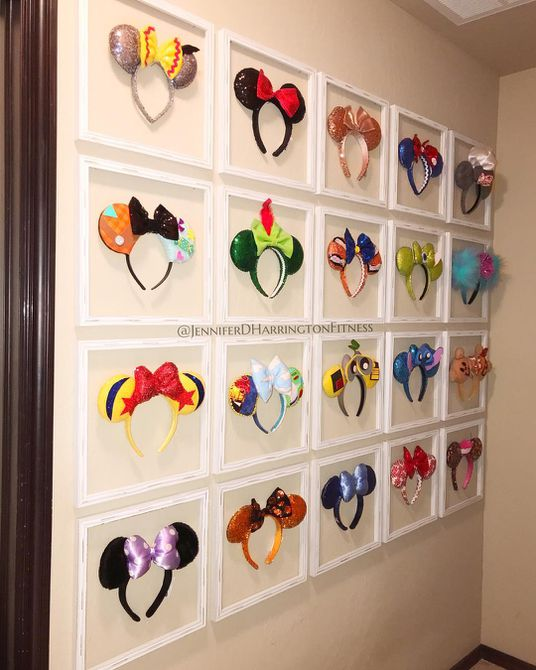 Disney Mickey Ear Nursery Display
