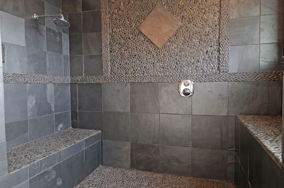 Using natural stone in showers shower with natural stone solutioingenieria Images