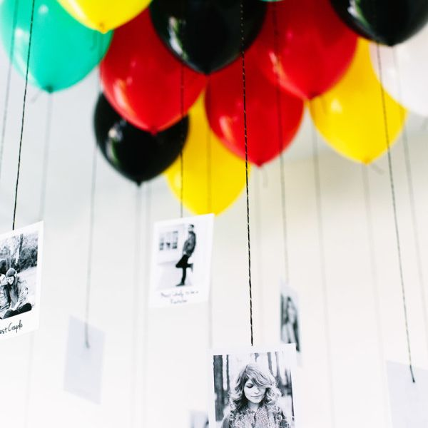 Dangling Photo Display