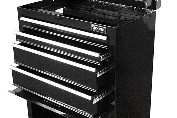 Excel 4 Drawer Roller Tool Chest
