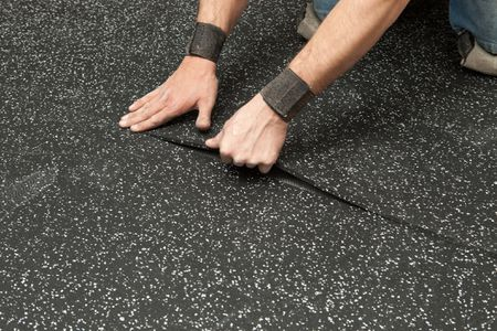 How to Clean Rubber Floor Tiles