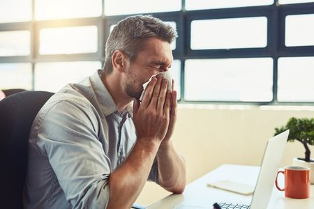 etiquette for days when you are sick