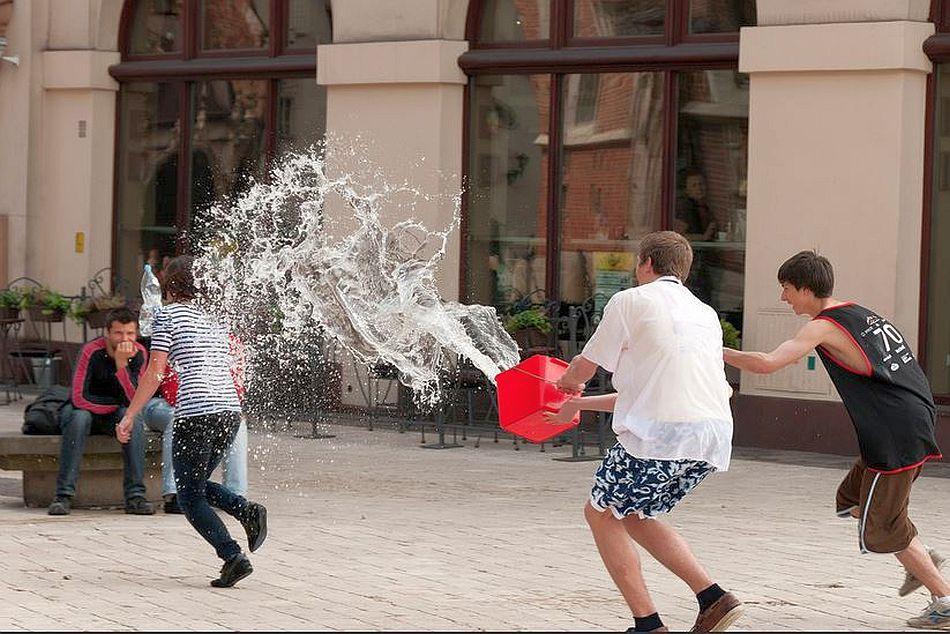 Smigus-Dyngus Water Dousing