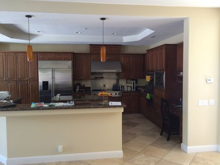 Kitchen Remodel With Island Before