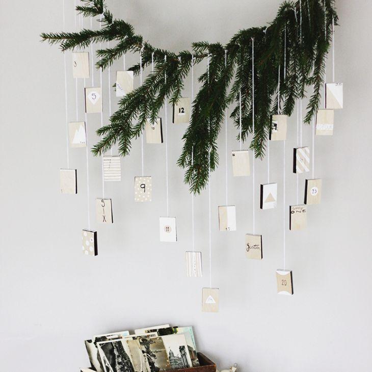 evergreen advent calendar