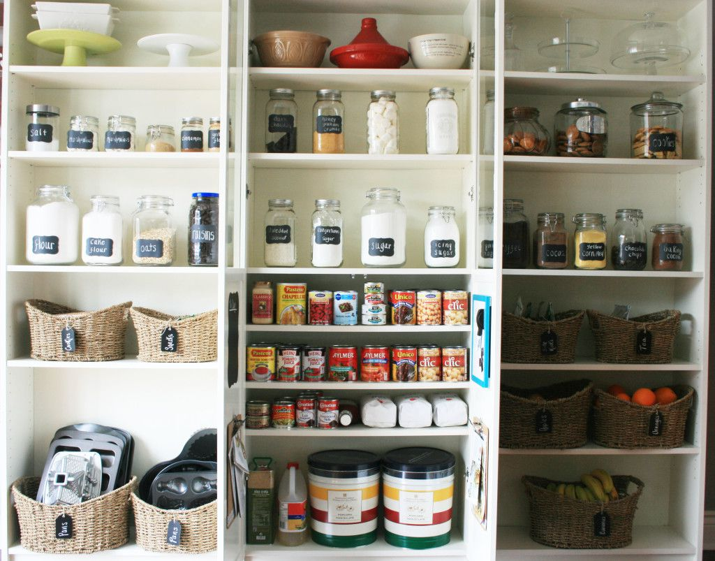 Pantry With Simple And Inexpensive Ideas