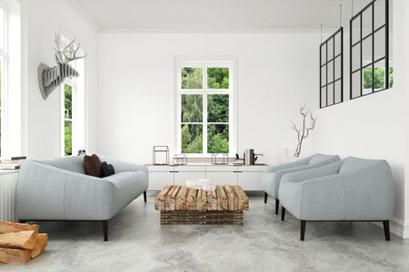 5 Creative Treatments For Concrete Floors