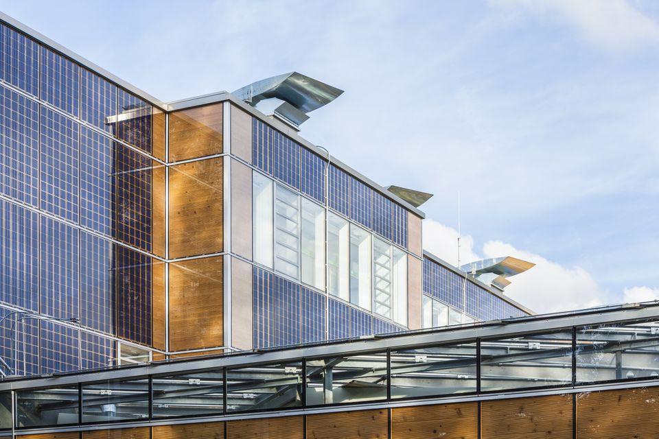 Edificio escolar energéticamente eficiente