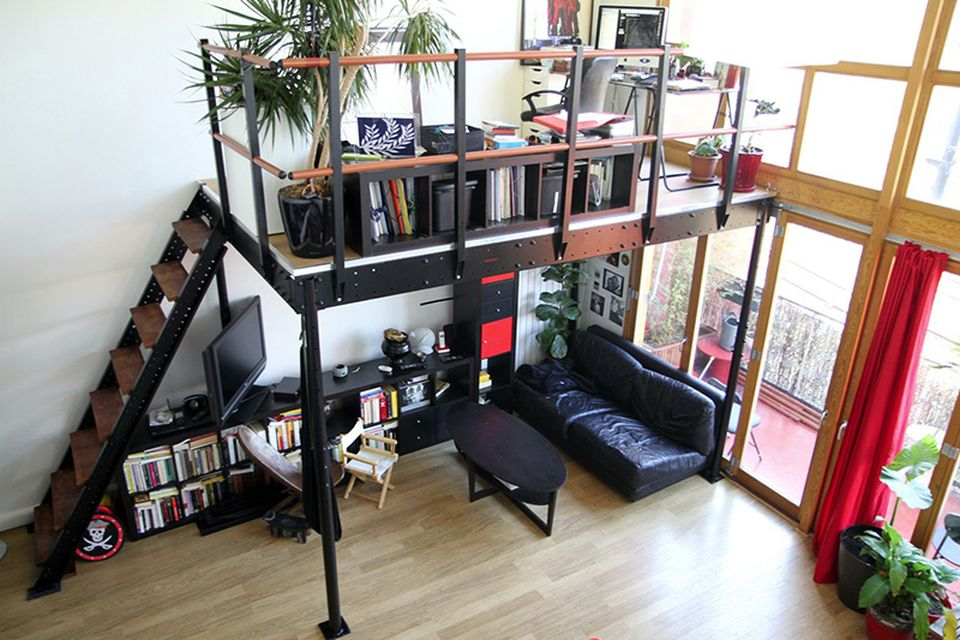 Small Loft Home Office