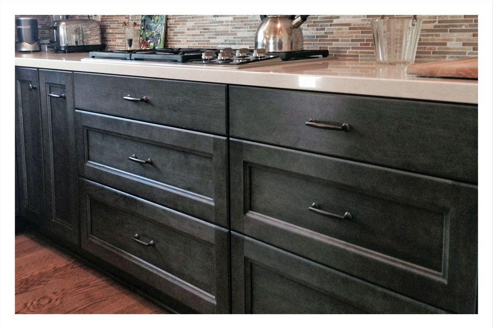 Three Drawer Base Cabinets